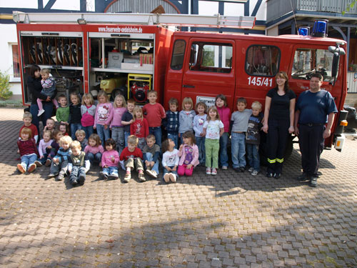 Brandschutzerziehung KiGa Oedelsheim